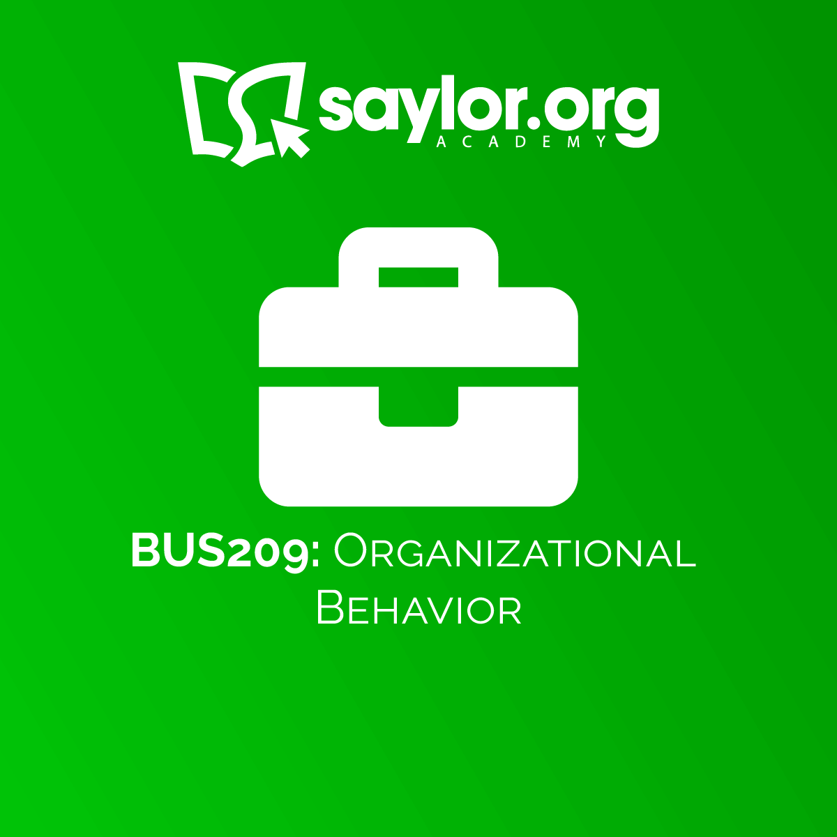 BUS209: Principles of Management, v1 1: