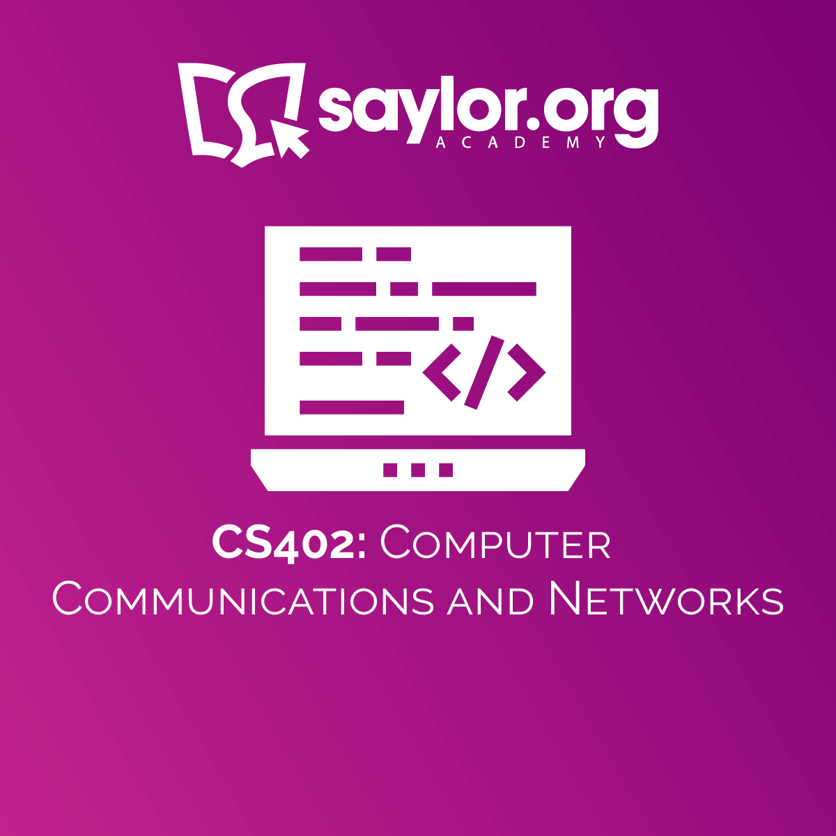 CS402: Computer Communications and Networks | Saylor Academy