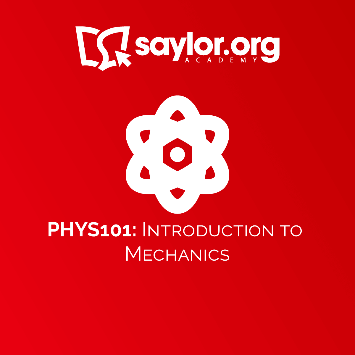 PHYS101: Introduction to Mechanics, Topic: Unit 9: Angular