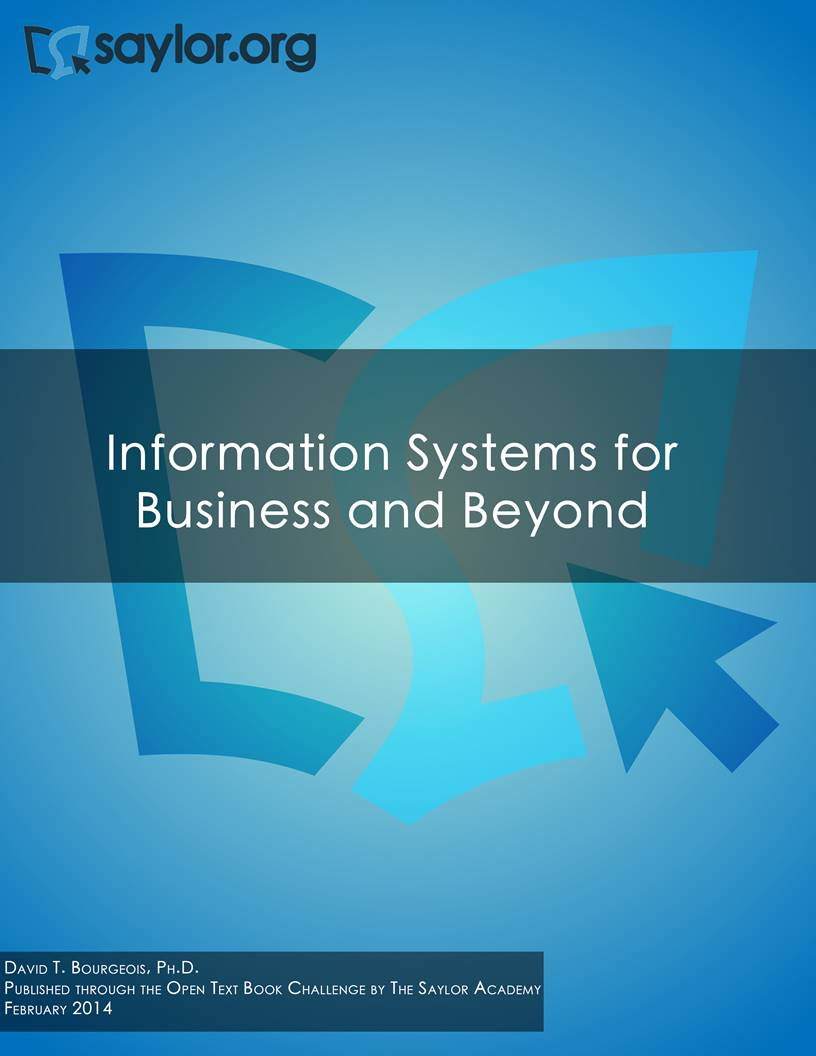 business information systems This text was adapted by the saylor foundation under a creative  finally, the book needed to appeal to the business side of information systems.