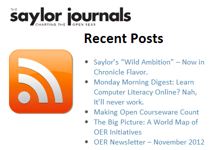 The Saylor Journals