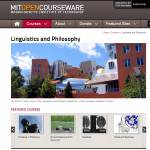Linguistics and Philosophy - MIT OpenCourseWare