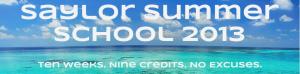 Saylor Summer School Banner