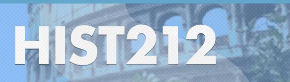 iTunes U HIST212