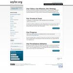 Screenshot of saylor.org November 2011