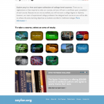 Screenshot of saylor.org March 2012