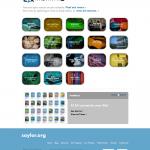 Screenshot of saylor.org April 2013