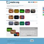 Screenshot of saylor.org August 2014