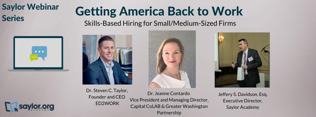 Getting America Back to Work: Skills Based Hiring
