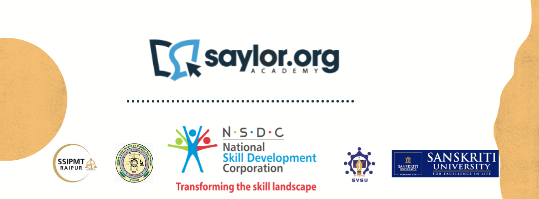 Saylor Academy India Partnerships promote skills