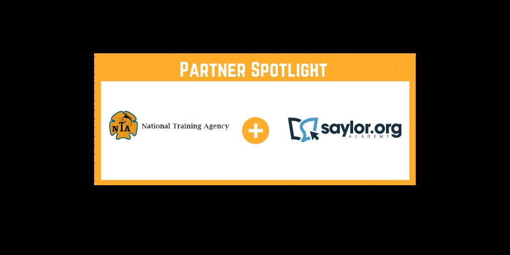 Saylor and NTA partnership
