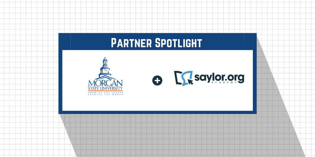 Morgan State and Saylor Academy Partner to Expand Affordability and Access